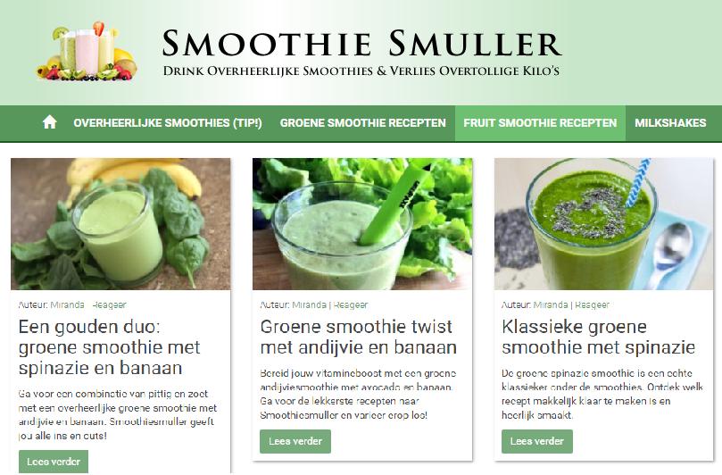 beste smoothy recepten online