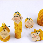Kaarsen van bijenwas
