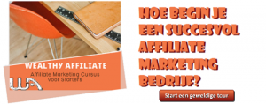 Start een geweldige tour op Wealthy Affiliate