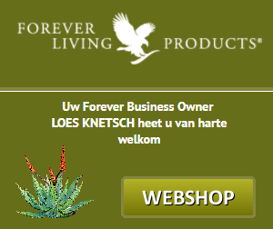 Webshop banner Forever living products FLP