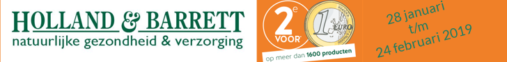 Actie Holland and barrett
